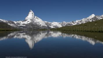 Zermatt CH 246 Stellisee e il Cervino 0000