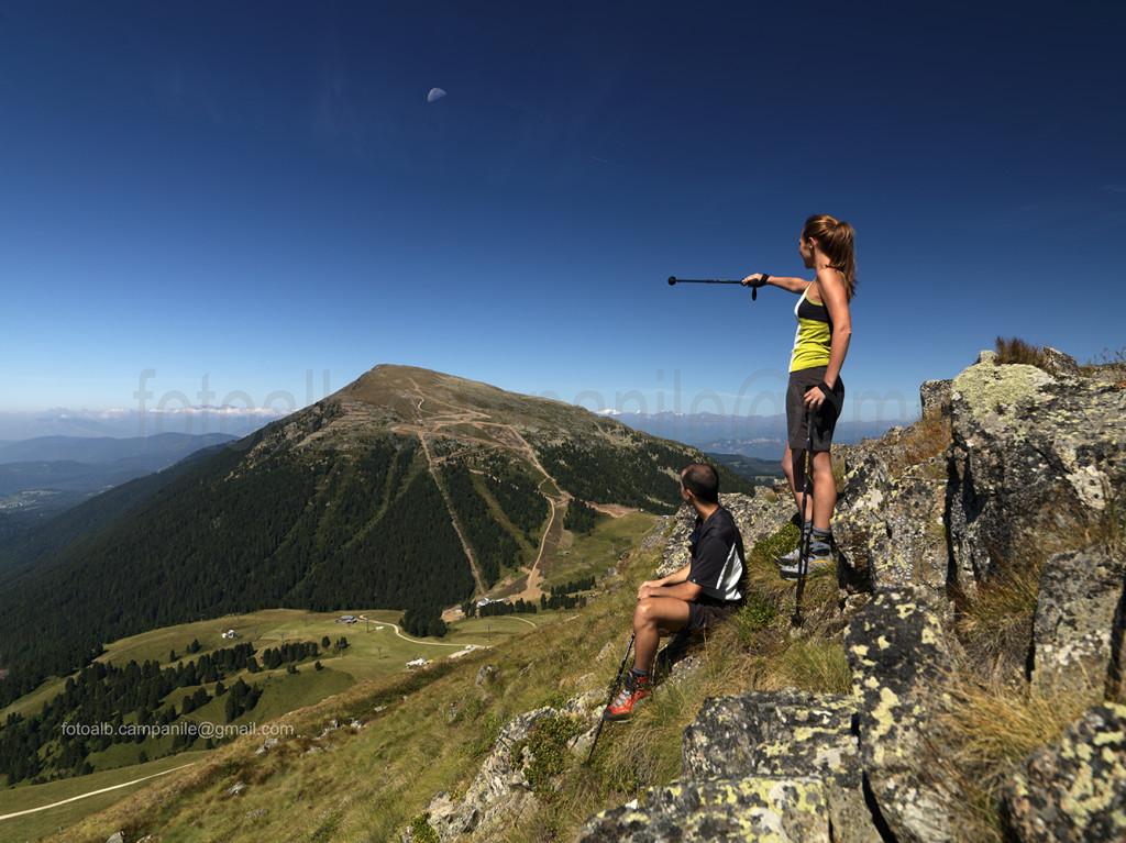 Val di Fiemme 3837 Latemar vista tra il Rif Passo Feudo e il Rif Torre di Pisa 0000