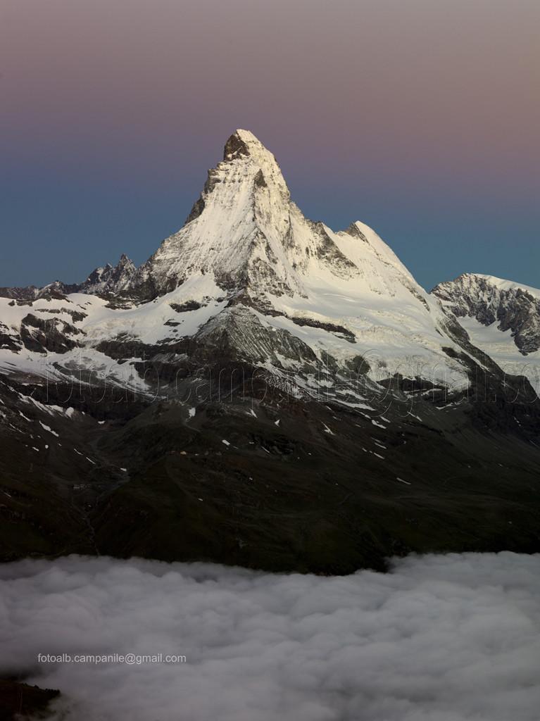 Zermatt CH 99 vista del Cervino Matterhorn da Rothorn 0000