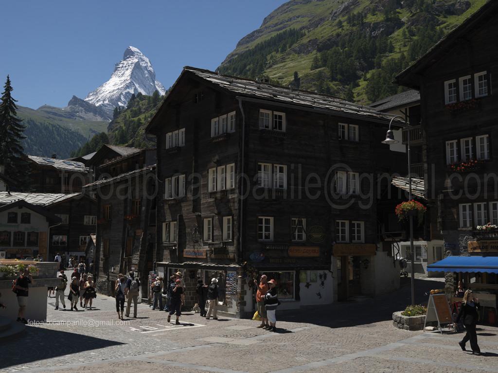 Zermatt CH 700 Kirchplatz 0000