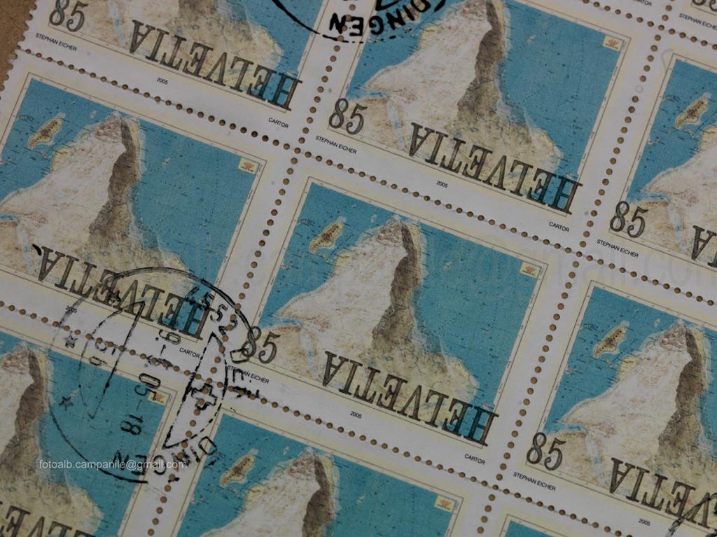 Zermatt CH 1036 Matterhorn Museum francobolli 0000