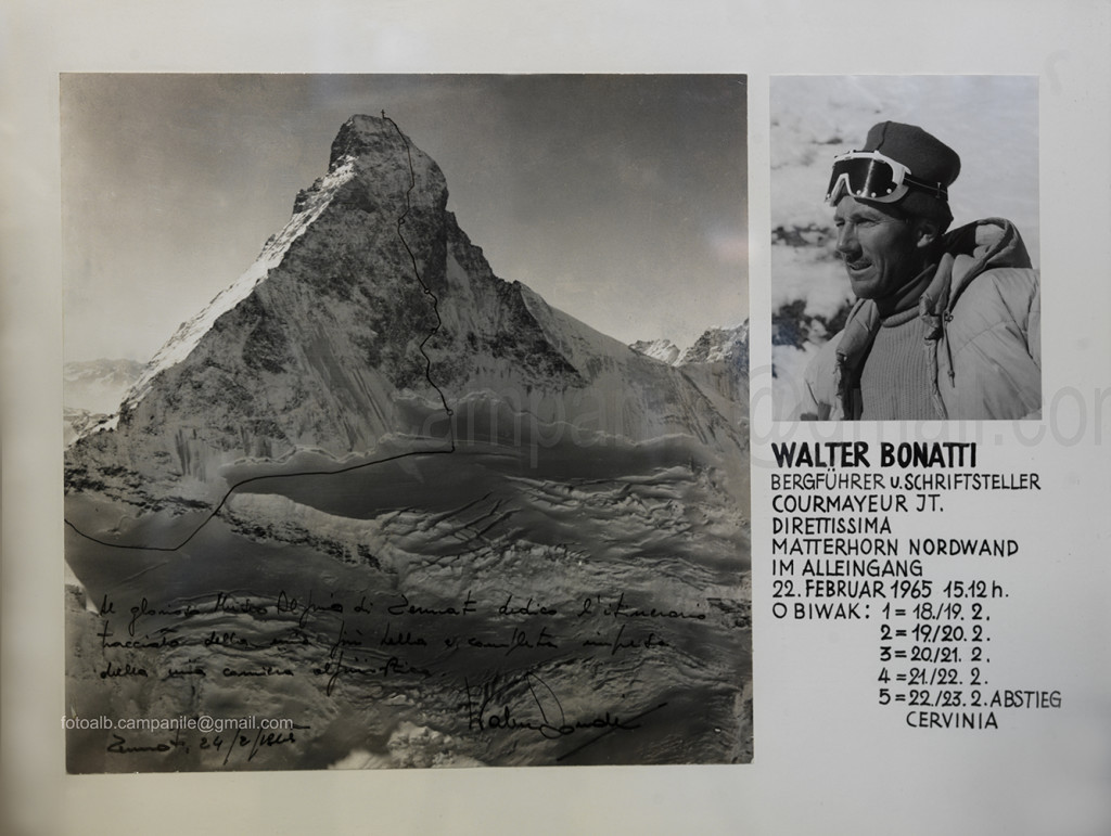 Zermatt CH 1020 Matterhorn Museum la via di Bonatti al Matterhorn 0000