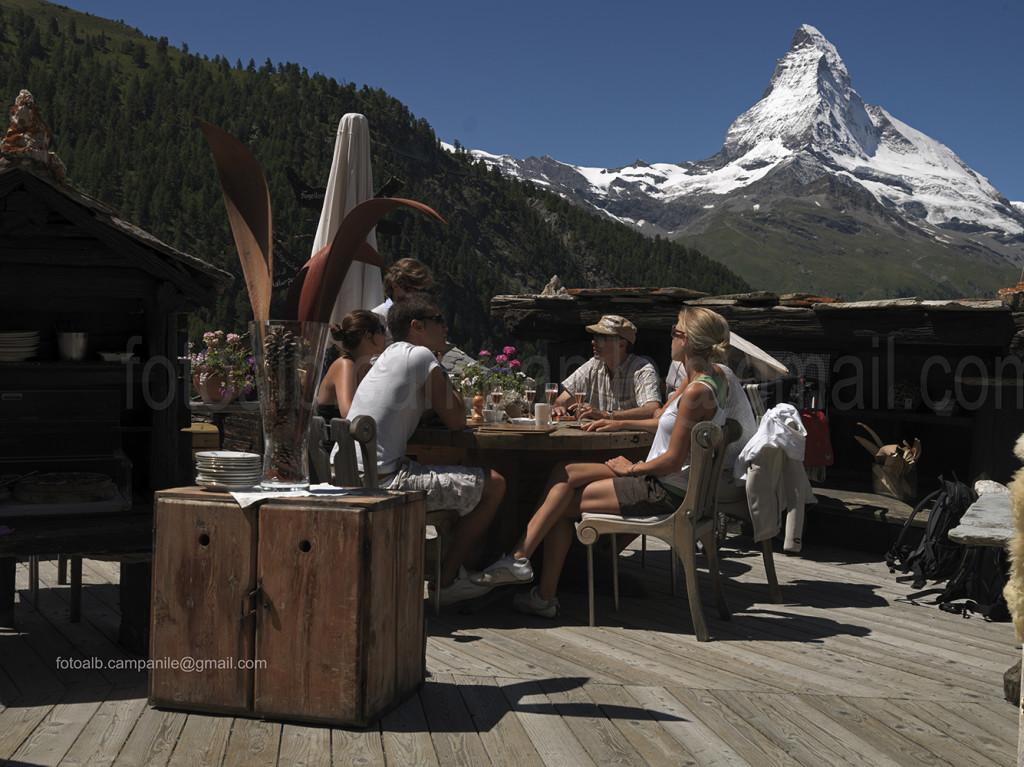 Zermatt CH 380 il ristorante Chez Vrony 0000