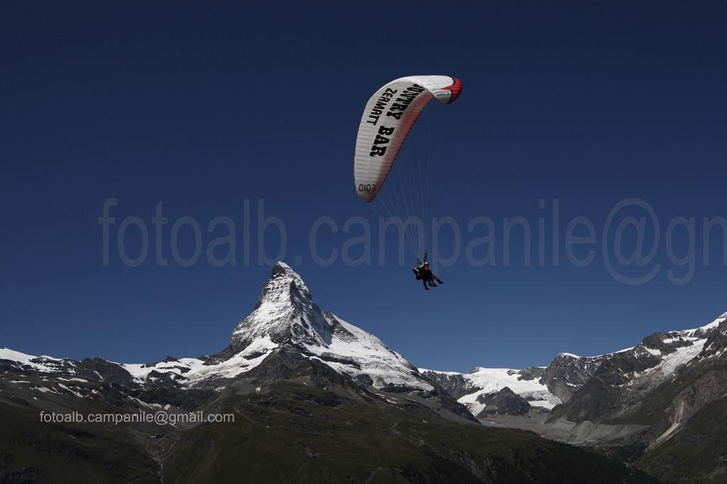 77 Zermatt 1541CR volo verso Zermatt e Matterhorn