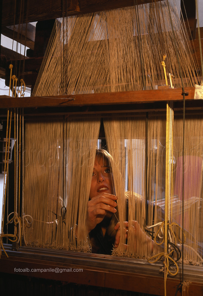 Sestiere Santa Croce Venezia tess 11 Luigi Bevilacqua, Antica tessitura serica