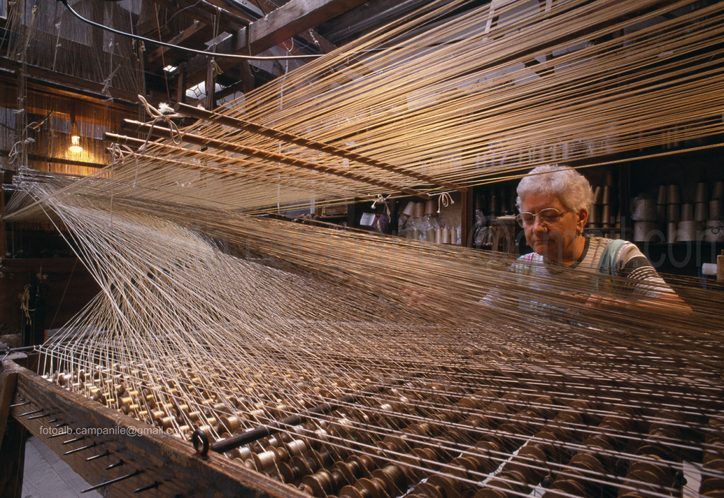 Sestiere Santa Croce Venezia tess 27a Luigi Bevilacqua, Antica tessitura serica