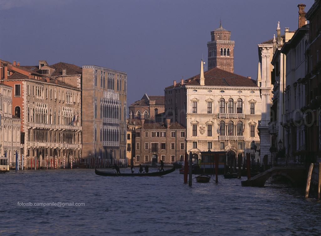 The Canal Grande, Venice, Venezia, Veneto, Italy, Italia