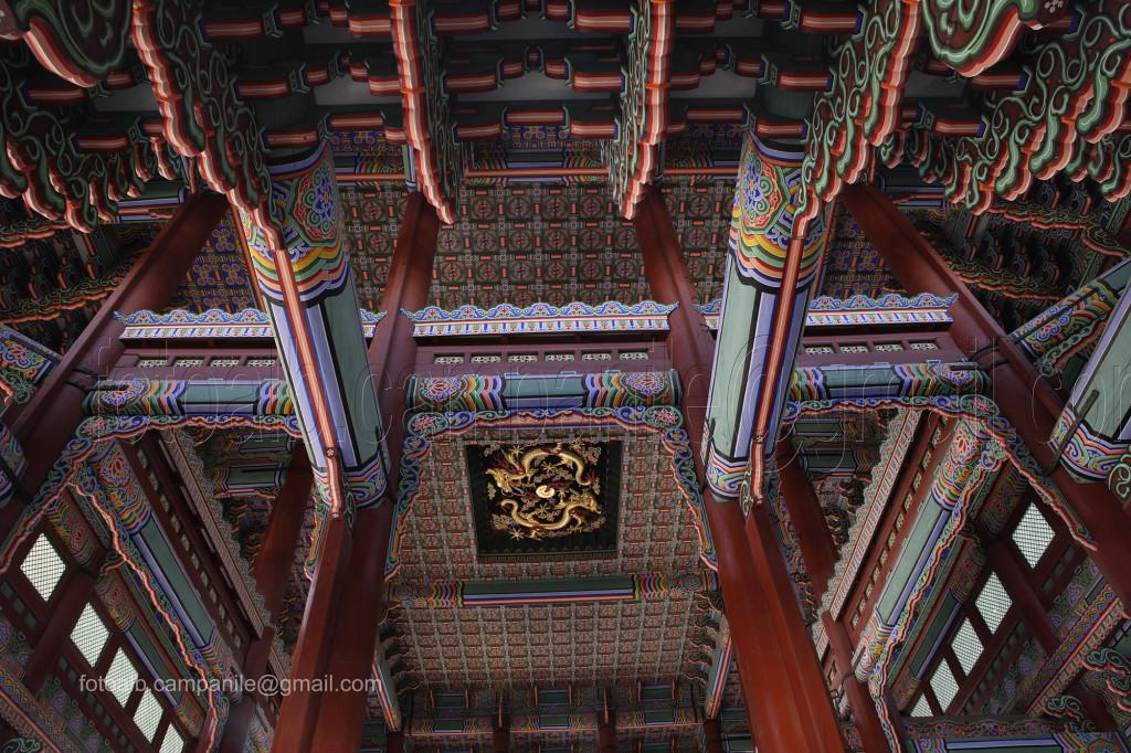 209 Corea Sud 1110CR Seoul Gyeongbok Palace palazzo reale