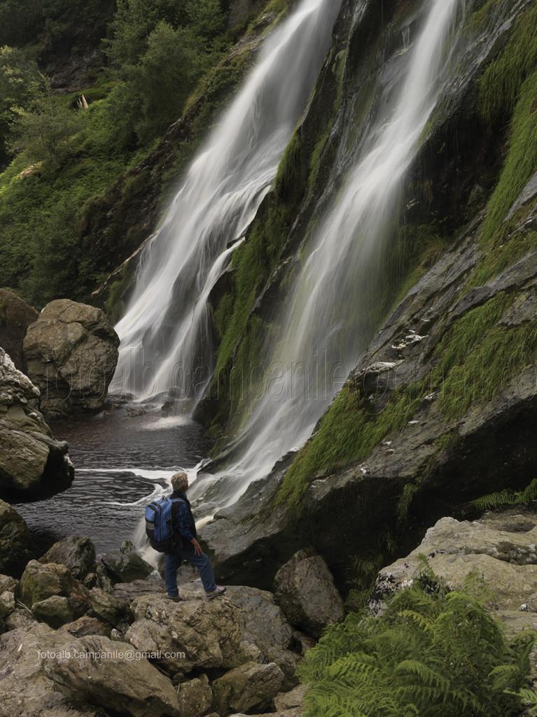 Irlanda 510 Enniskerry, Powerscourt, la cascata 0000