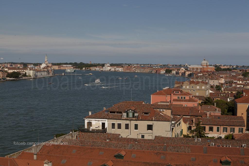 Venezia 2424 Isola Giudecca Vista da Skyline del Mulino Stucky