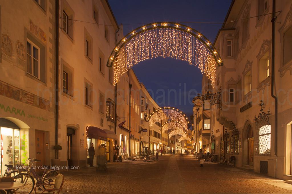 Via Centrale (Stadtgasse), Brunico (Bruneck), Alto Adige, Italy, Italia, Europe