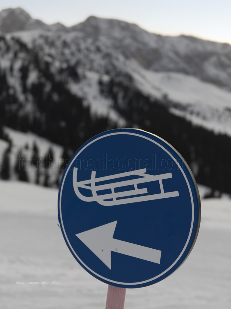 113 Val Gardena 479 Santa Cristina pista slittino al Rif Zallinger