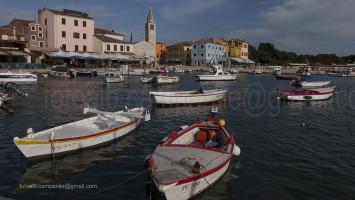 Batela (typical boat) Fasana, Fažana, Istria, Croatia