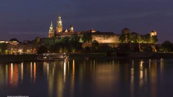 Wawel and Vistola River, Krakow, Poland, Europe