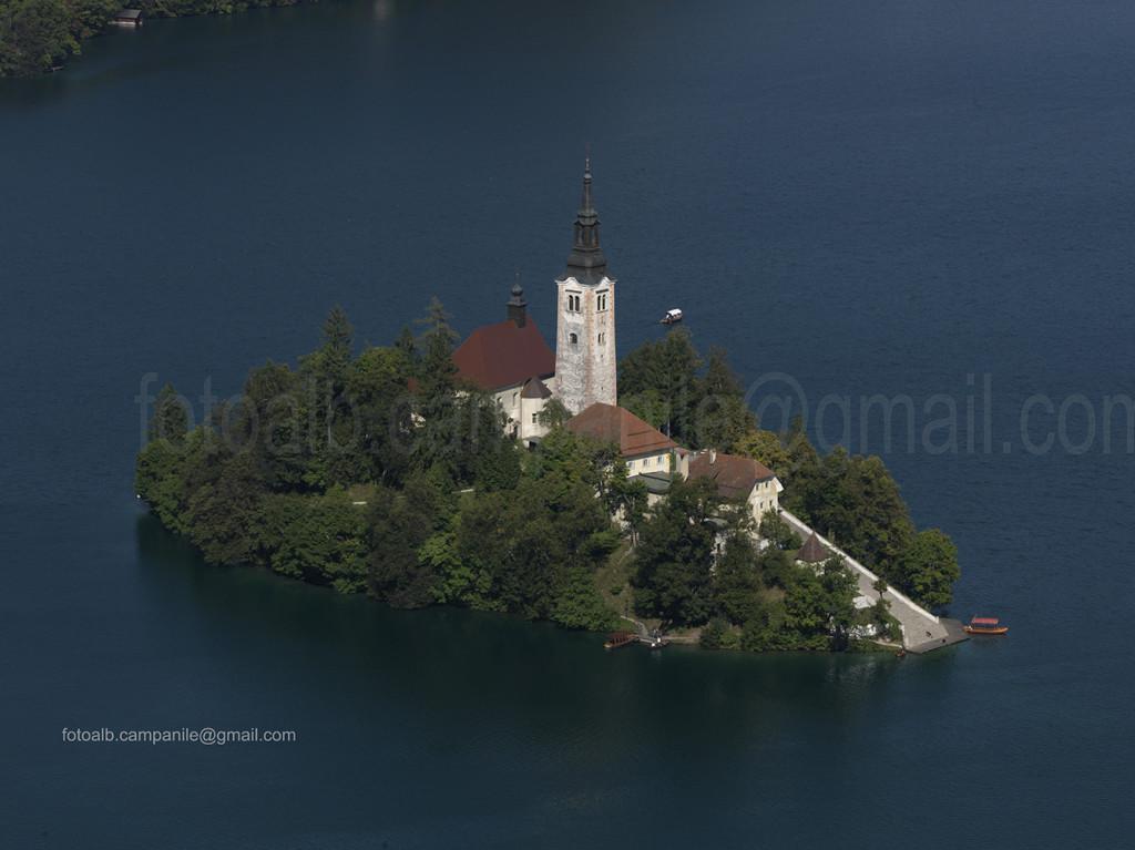 Slovenia Bled 66 isola di Otok e chiesa Assunzione di Maria 0000