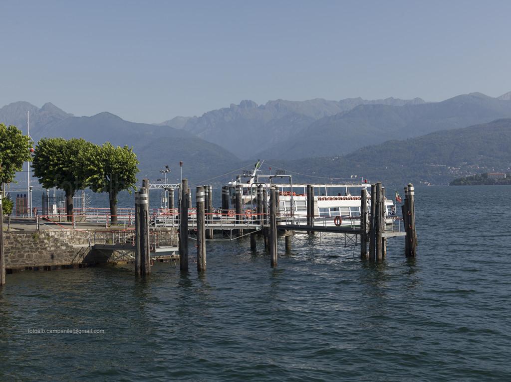 Lake front, Stresa, Piedmont region, Italy, Europe