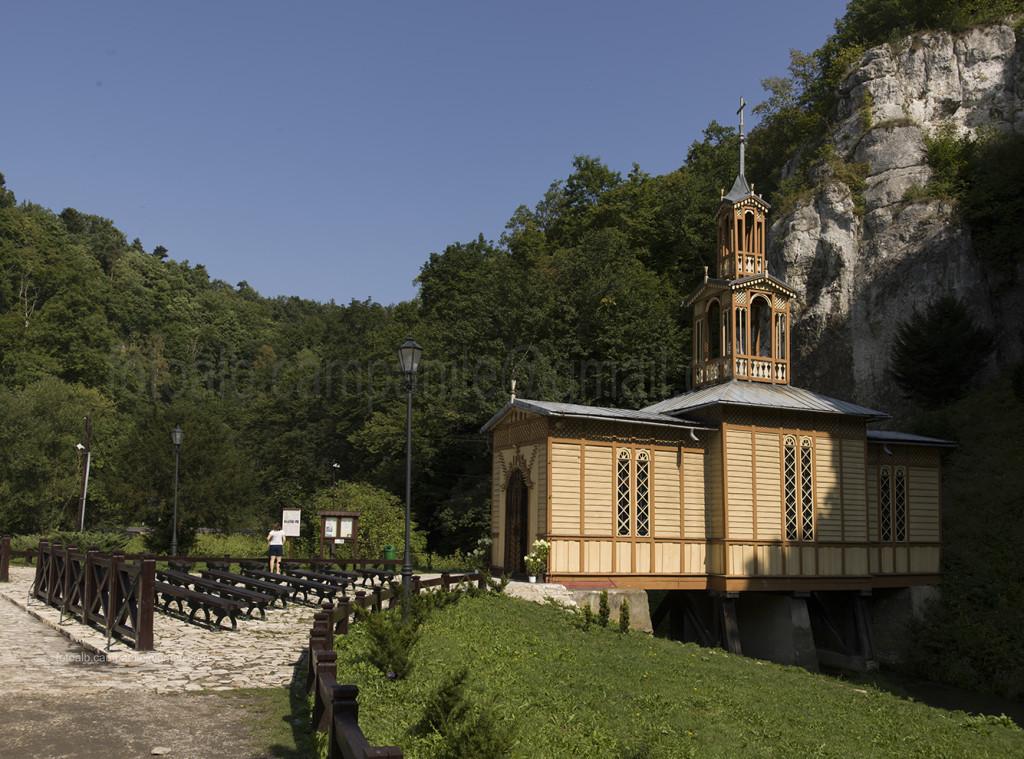 Kaplika na Wodzie (Chapel on the water), Ojcow,  Poland, Europe