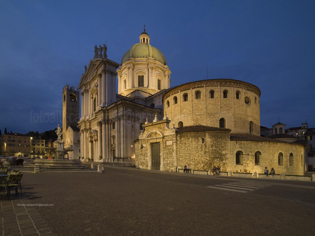 Duomo square, Brescia, Lombardy, Italy, Europe