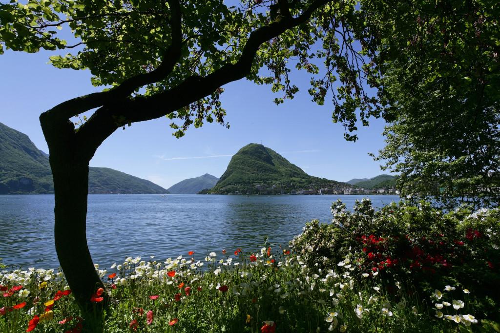 Das Tessin: Parco Ciani am Lago di Lugano