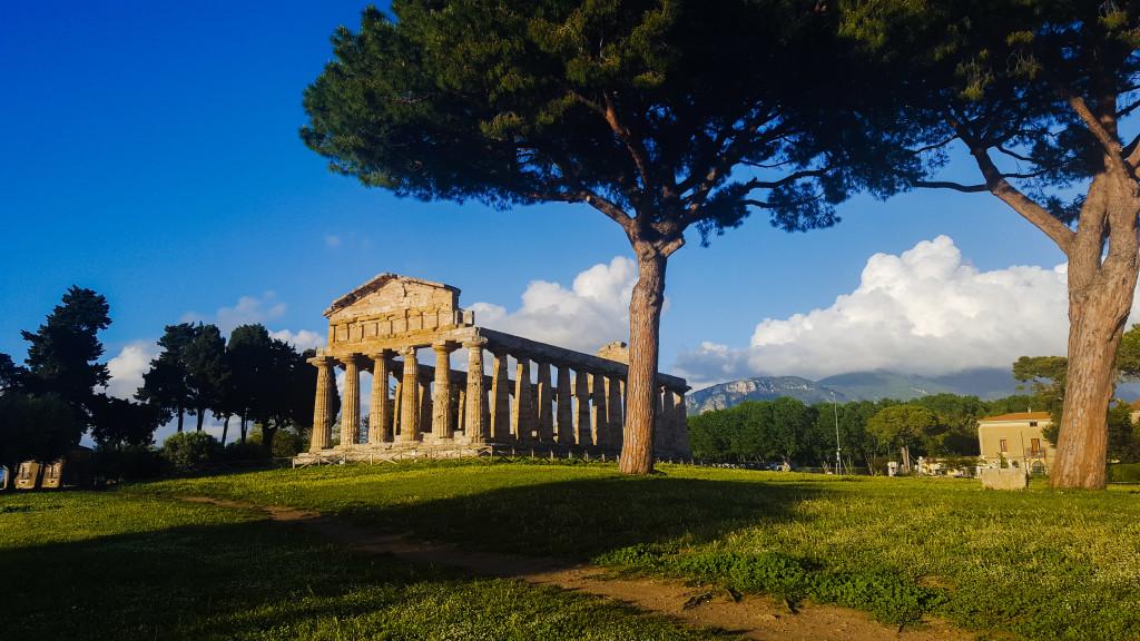 Tempio Atena Paestum