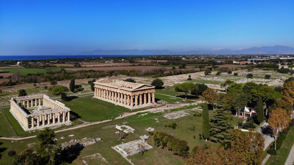 I templi greci di Paestum