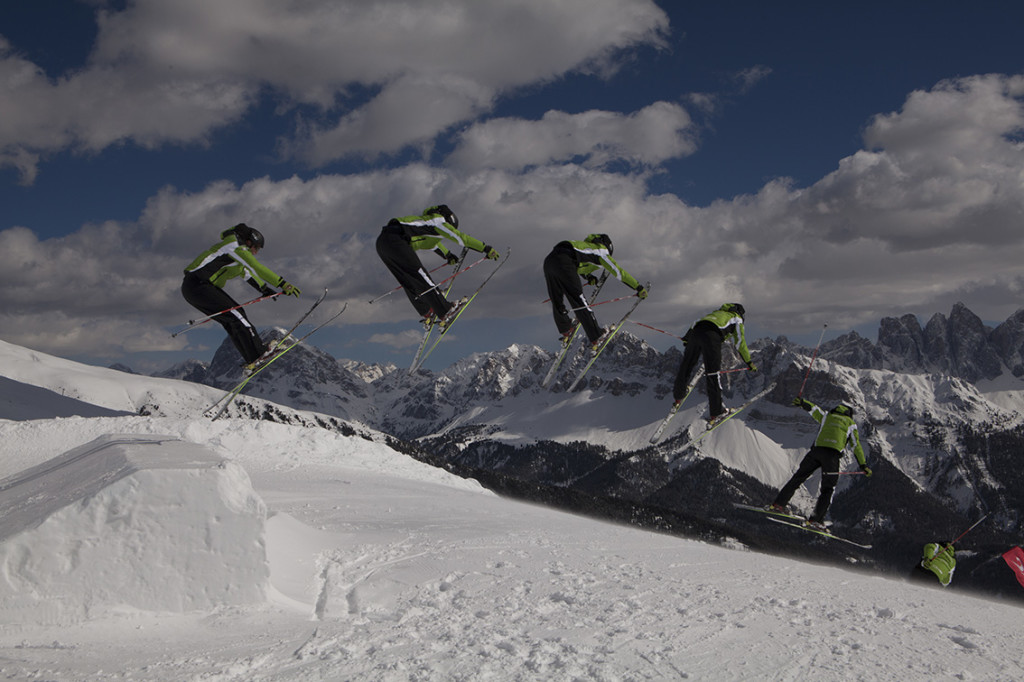 Funpark Plose (snowpark), Plose, Bressanone (Brixen), Alto Adige, Italy; Europe