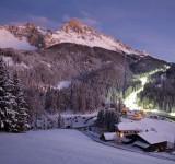Val d'Ega, la notte in bianco sulle Dolomiti