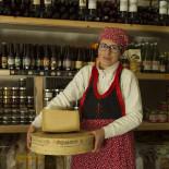 Bormio Dairy, Bormio, Valtellina, Lombardy, Italy, Europe