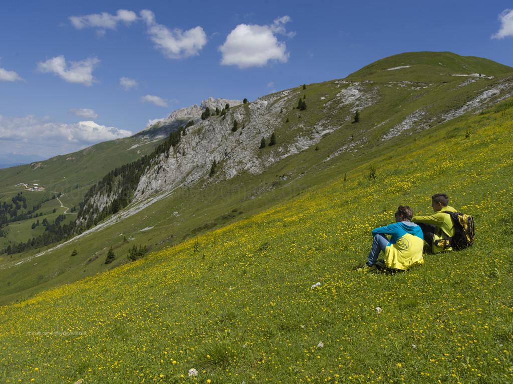 Pampeago 20942 Discesa da Rif Passo Feudo a Baita Caserina