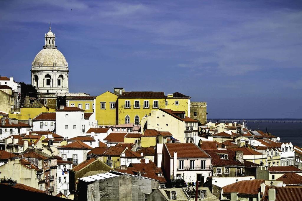 l'Alfama a Lisbona