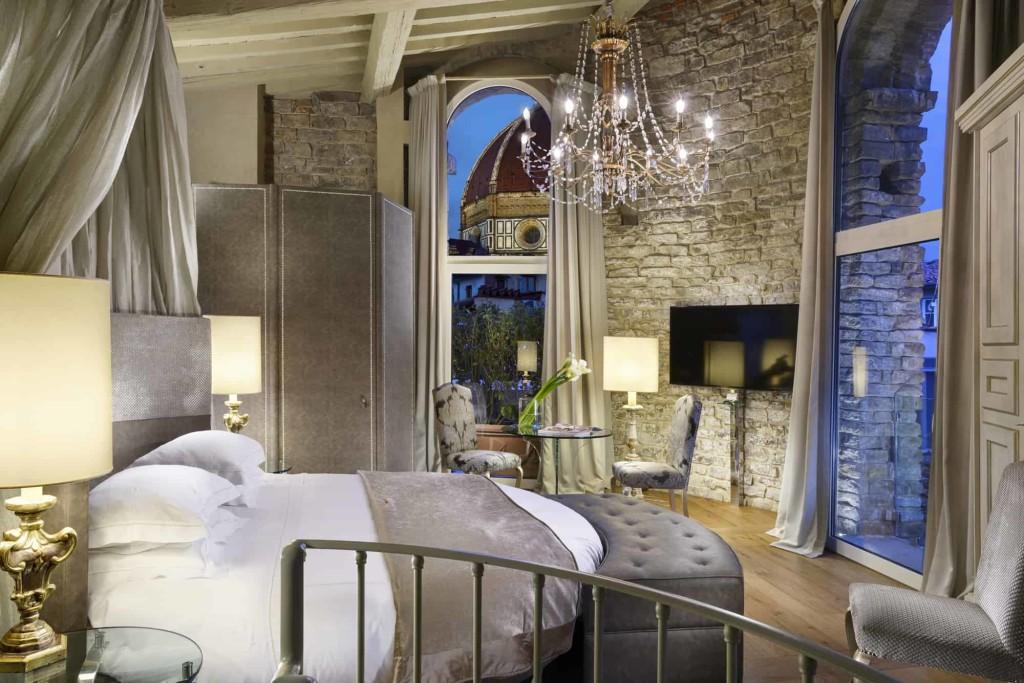 Brunelleschi Suite bedroom (1)