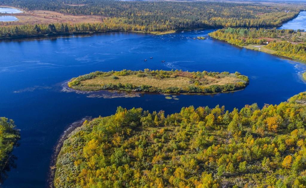 vista sul fiume -foto Michael Törnkvist, Explore the north (2)